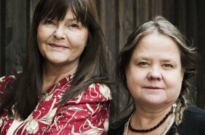 Eva Swedenmark och Annica Wennström. Foto: Pressbild Lind & Co