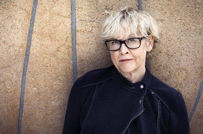 Författaren och poeten Eva Runefelt. Foto: Caroline Andersson