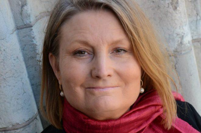 Ewa Åkerlind, ägare och förlagschef på Ordberoende förlag. Foto: Richard Ryan de Cuevas