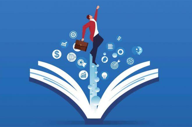 Svensk bokexport gav intäkter på över 300 Mkr förra året. Illustration: iStock.