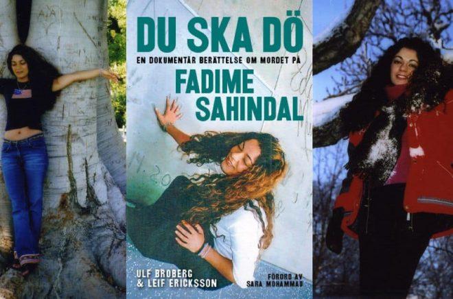 År 2022 kommer en tv-serie om hedersmordet på Fadime Sahindal. Foto vänster och höger: NENT Group. Bokomslag: Arx förlag