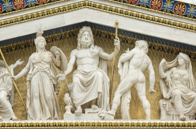 Bokförlaget Faethon har tagit sitt namn från den grekiska guden Faethon, son till Zeus. Foto: Istock