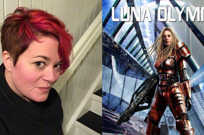 Ulrika Fjellborg har skrivit rymdoperan Luna Olympia. Foto: Privat