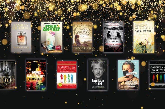 Forum prisar för sjätte året i rad sina bästsäljande titlar med Guld-, Platina- och Diamantböcker. Foto: Bokförlaget Forum