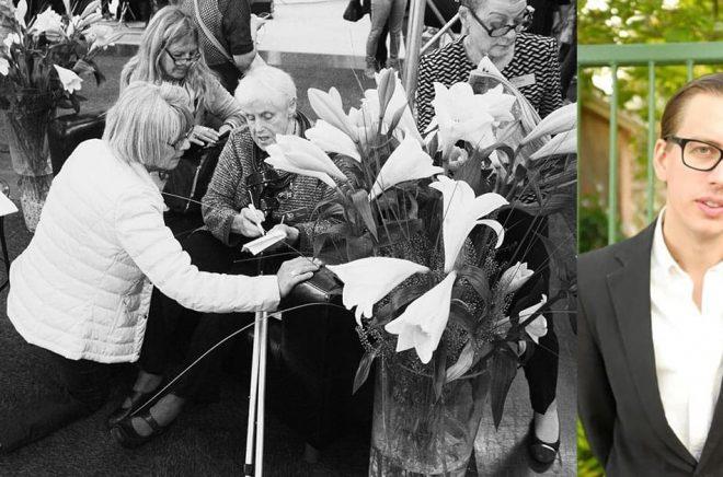 T v, en av många bilder i boken av fotografen Marcus Stenberg som på färgbilden till höger förevigats av Jeanette Öhman.