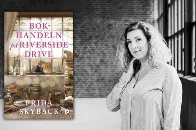 Frida Skybäck har fått till en verklig succé - Bokhandeln på Riverside Drive har nu passerat 100 000 exemplar. Foto: Conny Palmkvist.