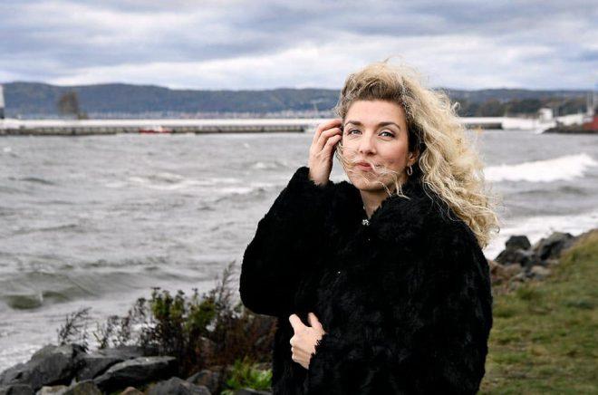 Frida Skybäck, författare. Foto: Robert Eriksson