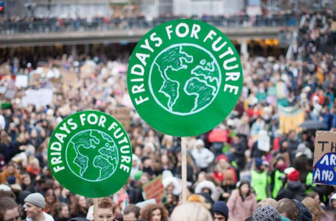 Global Strike For Future Stockholm, den 15 mars 2019. Foto: Anders Hellberg