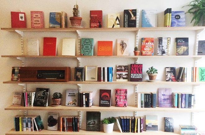 Bokhandeln - Malmös minsta bokhandel. Foto: Fredrik Green