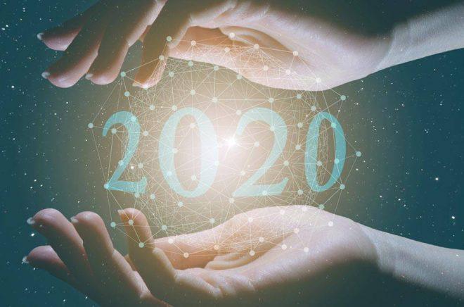 Hur kommer vi att minnas 2020 i framtiden? Året då coronakrisen digitaliserade bokbranschen? Illustration: iStock.