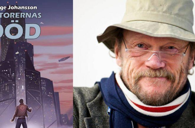 I maj 2021 ges George Johanssons sci-fi Datorernas död ut på nytt, nästan 40 år efter originalutgåvan. Foto: Privat
