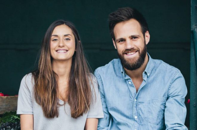 Luise Vindahl och David Frenkiel driver varumärket Green Kitchen Stories. Foto: Green Kitchen Stories