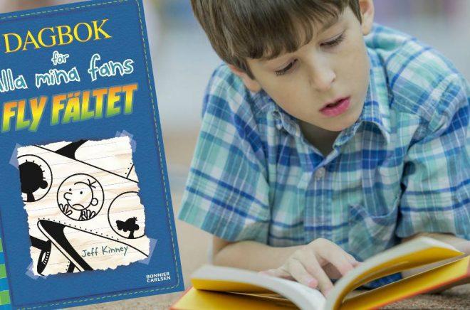 Jeff Kinneys barnböcker fortsätter locka unga läsare. Foto: iStock, omslag Bonnier Carlsen