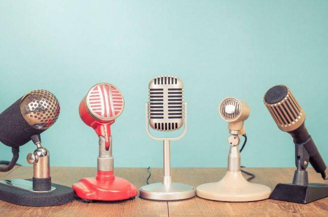 I TeaterAlliansens nya röstbank kan ljudboksförlag botanisera bland fler än 400 röstprov av professionella skådespelare. Foto: Istock