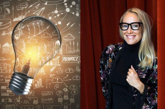 Författaren och föreläsaren Ulrica Norberg. Foto: Caroline Andersson. Bild till vänster: Istock.