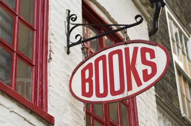 En liten bokhandel. Foto: iStock.