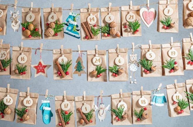 Adventskalendrar hör december till och är ett bra tillfälle för författare och förlag att vara kreativa. Foto: Istock