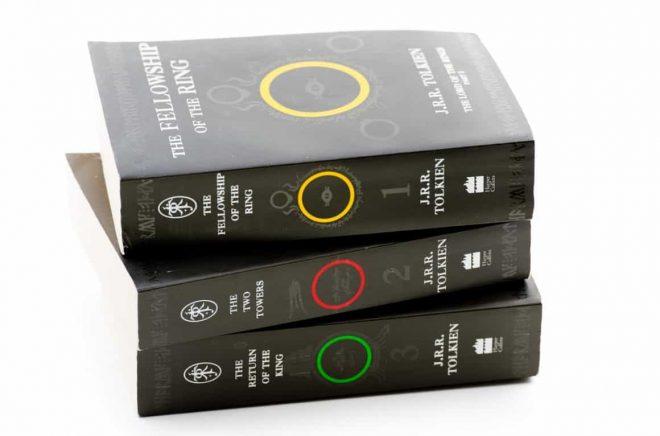 JRR Tolkiens Sagan om Ringen-trilogi. Foto: iStock
