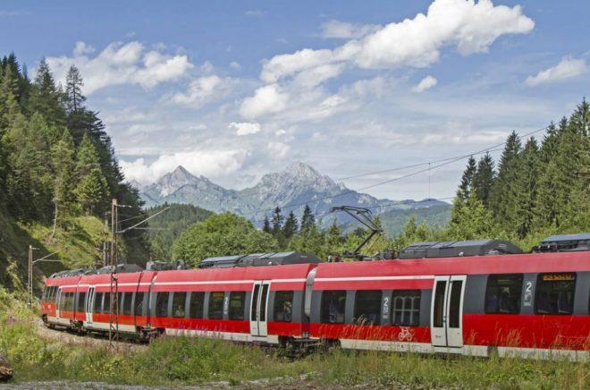 Tågresan gick från Sverige, via Danmark, Tyskland och Österrike till Italien och slutdestinationen Bologna. Foto: Istock