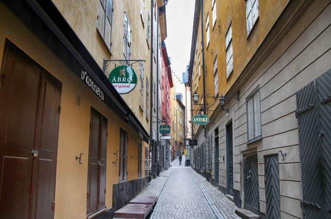 Gamla stan i Stockholm hyser ett flertal bokförlag. Foto: Istock