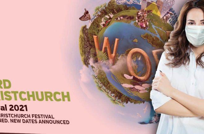 2021 WORD Christchurch Festival skulle startat 25 augusti men har skjutits upp till vidare. Foto: iStock. Montage: Boktugg.