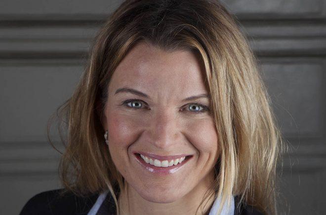 Jenny Bjuhr Berggren, kommunikationsdirektör på Bonnierförlagen. Foto: Klara Leo