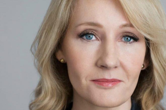 Författaren JK Rowling. Foto: Mary McCartney