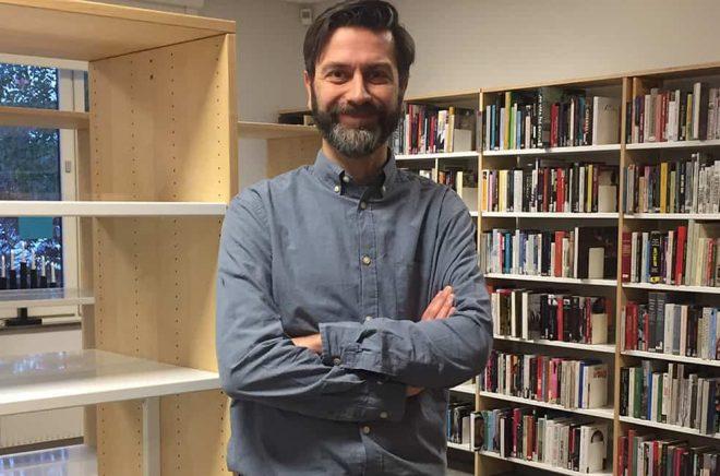 Johan Rasmussen, Staffanstorp bibliotek