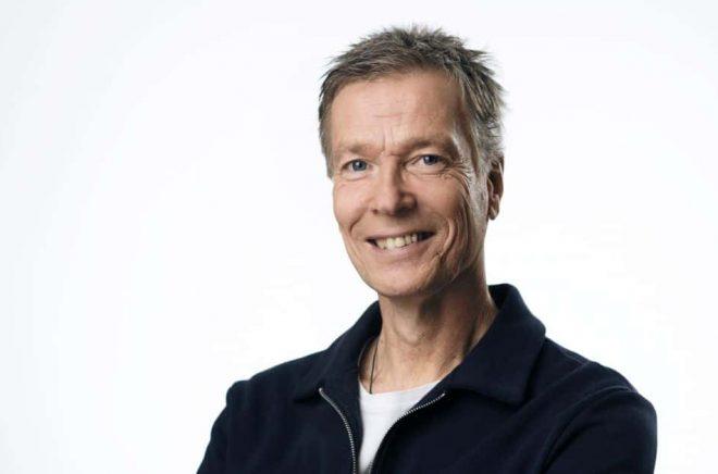 Johan Anderblad, programledare och författare. Foto: Stefan Tell