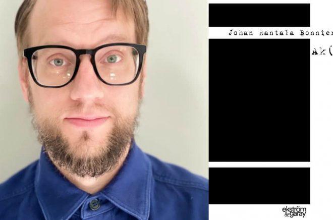 Johan Rantala Bonnier släpper diktsamlingen Ak(c)ne på Ekström & Garay. Foto: Privat/Ekström & Garay