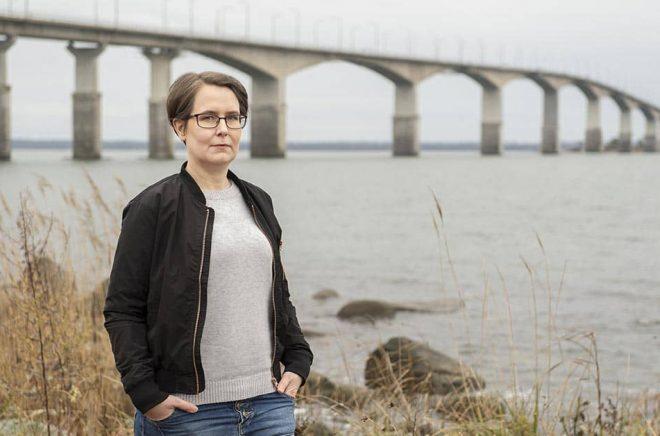 Författaren Johanna Mo