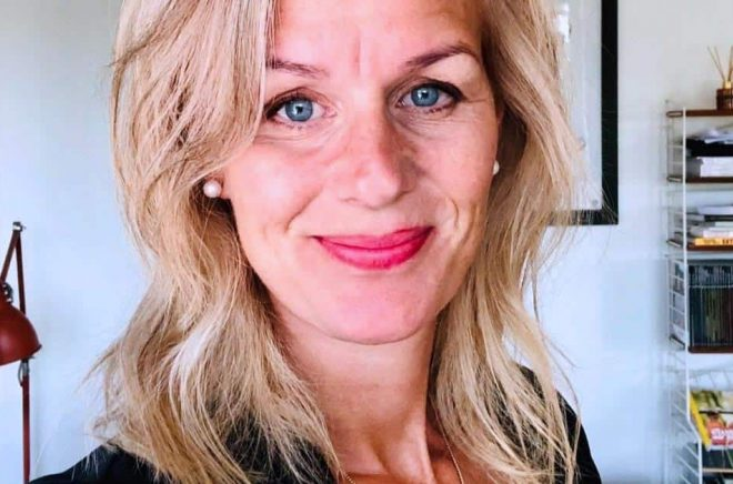 Johanna Rydergren blir ny förläggare på Wapi (Word Audio). Foto: Privat.