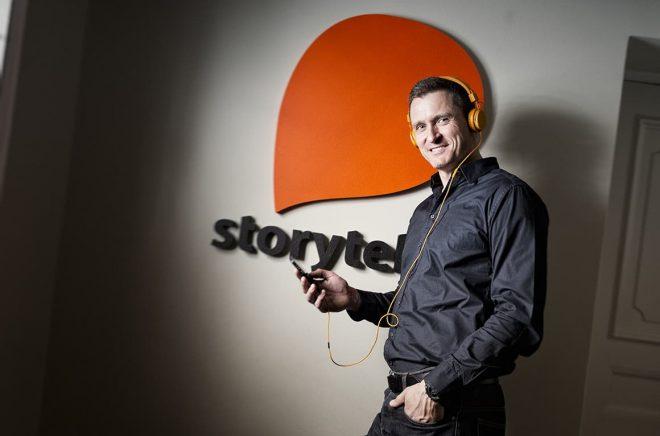 Jonas Tellander, grundare av Storytel.