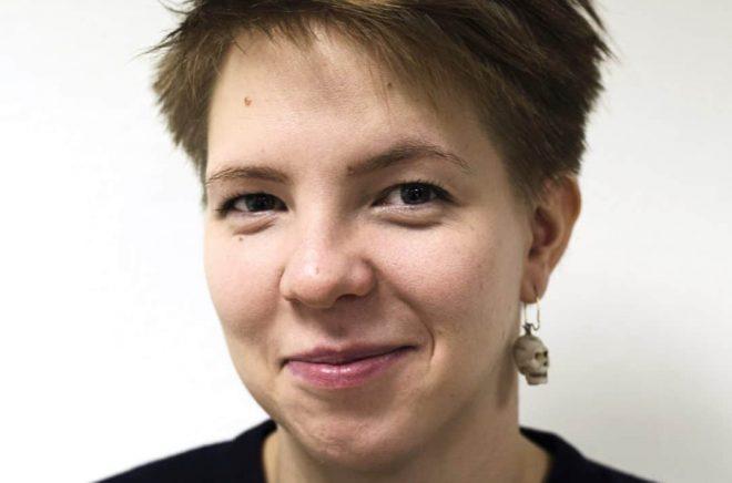 Josefin Svenske, förläggare på Rabén & Sjögren. Foto:Gert Jan Pos