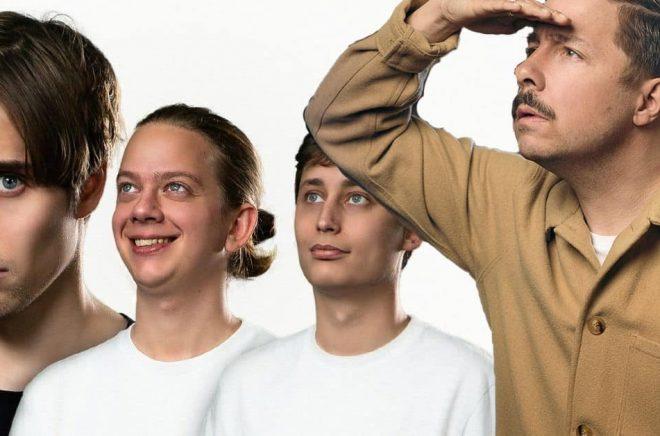 Humorgruppen IJustWantToBeCool (foto: IJWTBC) och David Sundin (foto: Stefan Tell) är några av alla de kändisar som kommit till bokbranschen från rörliga medier och gjort succé.