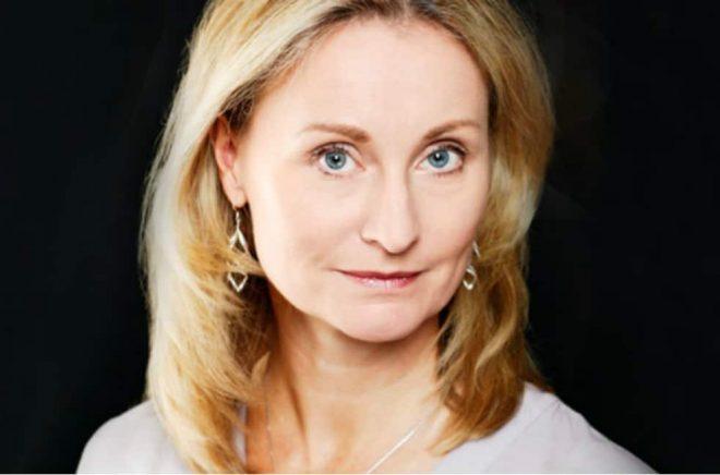 Karin Linge Nordh, programansvarig för Crimetime och förläggare på Forum. Foto: Forum