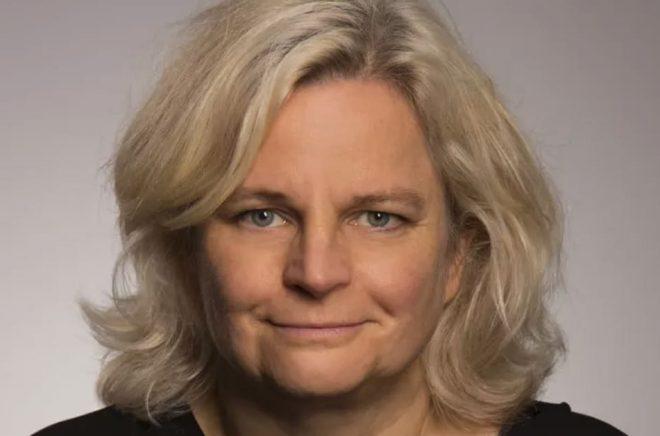Karin Linder, generalsekreterare på Svensk Biblioteksförening.