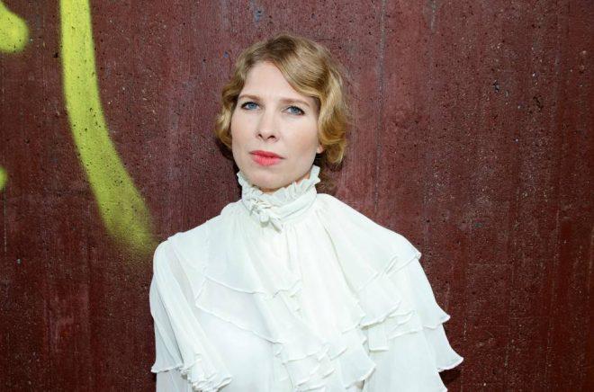 Författaren Karin Pasche. Foto: Teresia Bergström