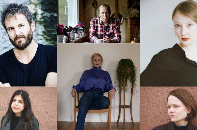 Linus de Faire (foto: Caroline Andersson), David Väyrynen (foto: Daniel Olausson), Emma Holm, Gordana Spasic, Viktoria Jäderling (foto: Sofia Runarsdotter) och Johanna Frid.