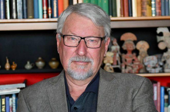 Kenneth Pettersson har skrivit barnböckerna om Tjabo och hans vänner. Foto: Therese Maurin