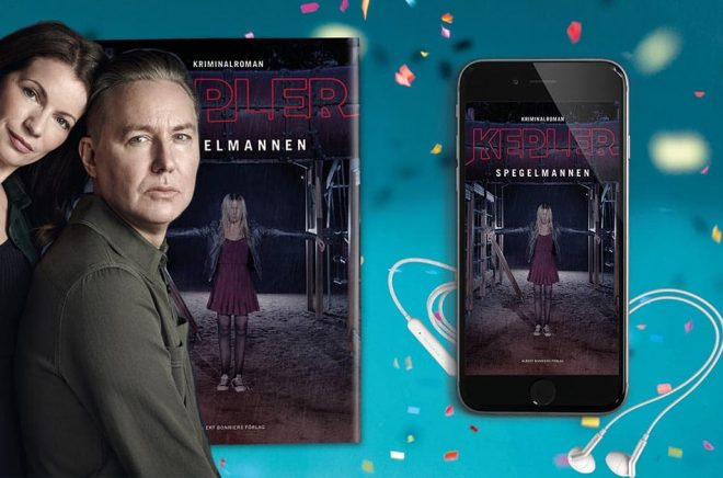 Lars Kepler (pseudonym för författarna Alexandra Coelho Ahndoril och Alexander Ahndoril) sålde 200 000 exemplar på en månad. Foto: Ewa Marie Rundquist.