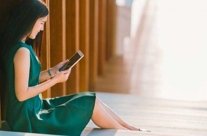 Den kinesiska marknaden för eböcker är gigantisk och beräknas ha över 500 miljoner användare i slutet av 2020. Foto: iStock.