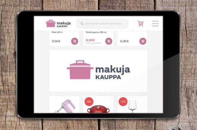 Adlibris satsar på finska i köket.