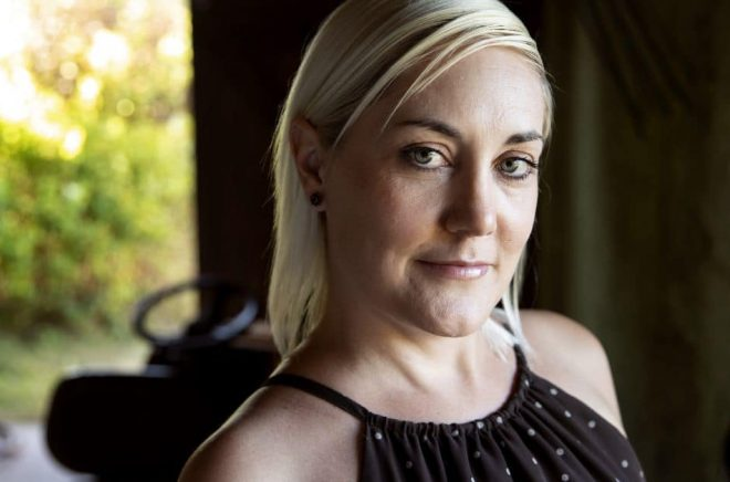 Manusutvecklaren Kristina Agnér debuterar som författare. Foto: Emil Malmborg