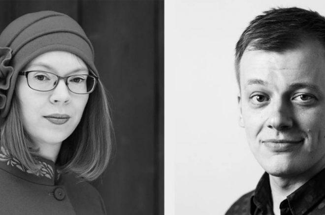Maria Turtschaninoffoch Kaj Korkea-aho tilldelas Längmanska kulturfondens Finlandspris 2018.