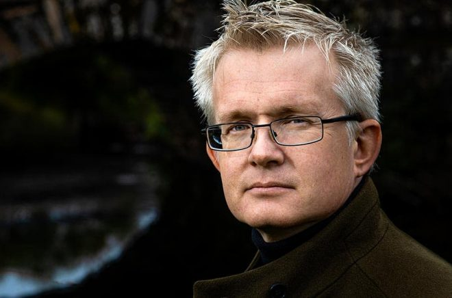 Författaren Lars Wilderäng. Foto: Sören Håkanlind.