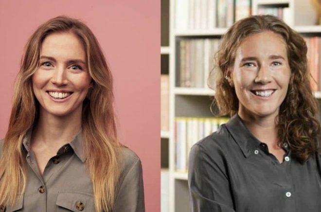 Sofie Zettergren, CFO, Storytel (foto: Mattias Bardå/Storytel) och Isa Widerståhl, förlagschef, Albert Bonniers förlag (foto: Peter Jönsson).
