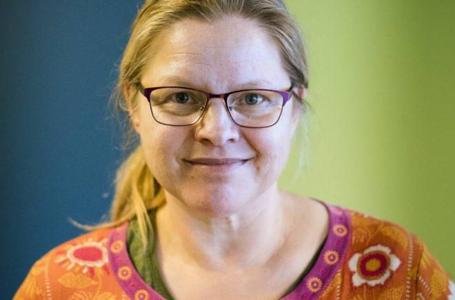 Lena Roos, professor i religionsvetenskap vid Södertörns högskola. Foto: Anna Hartvig