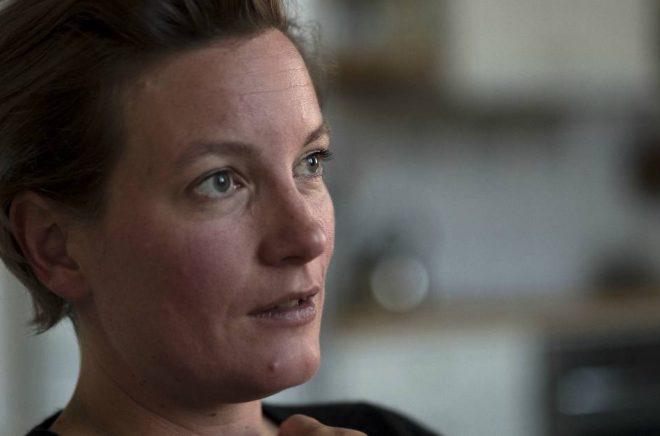 Agnes Lidbeck tilldelades Borås Tidnings Debutantpris 2018 för sin roman Finna sig. Foto: Patrik Hedljung 2017