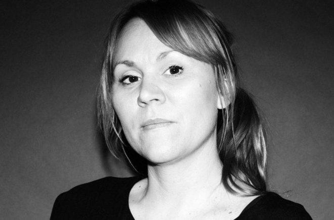 Linnéa Engström, debuterande författare. Foto: Märta Thisner